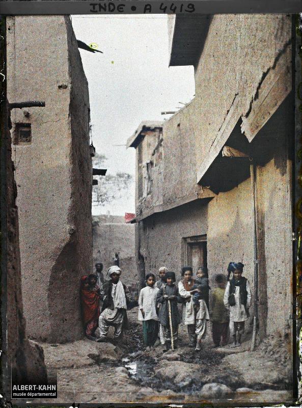 Indes, Peshawar, Une rue