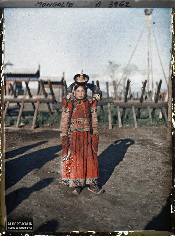 Ourga, Femme Mongole