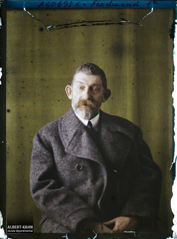 France, Boulogne, Portraits, S.M. Ferdinand, Roi de Roumanie